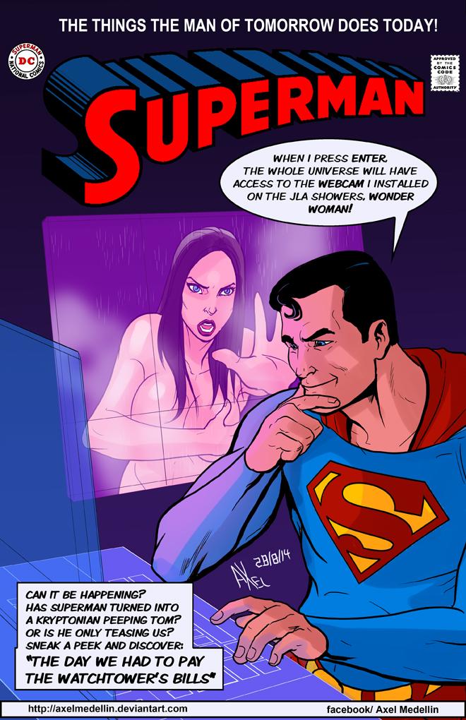 TLIID 204. Superman got a webcam by AxelMedellin