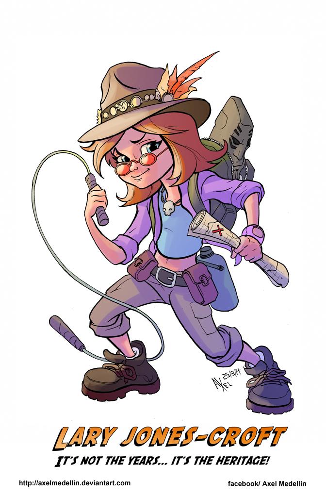 TLIID 208. Indiana Jones' and Lara Croft's kid... by AxelMedellin