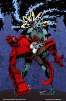 TLIID 211. Hellboy in Crisis on Infinite Earths by AxelMedellin
