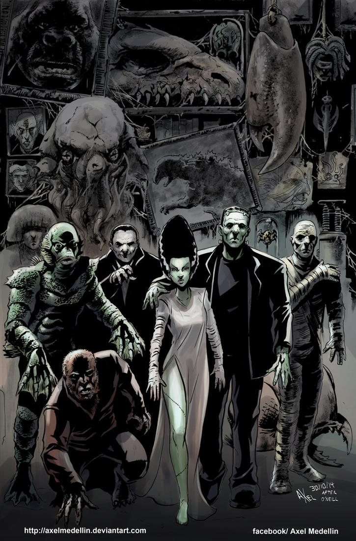 TLIID 213. The League of Extraordinary Monsters by AxelMedellin
