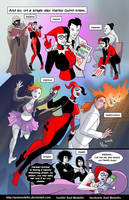 TLIID 226. Harley Quinn meets the Endless by AxelMedellin