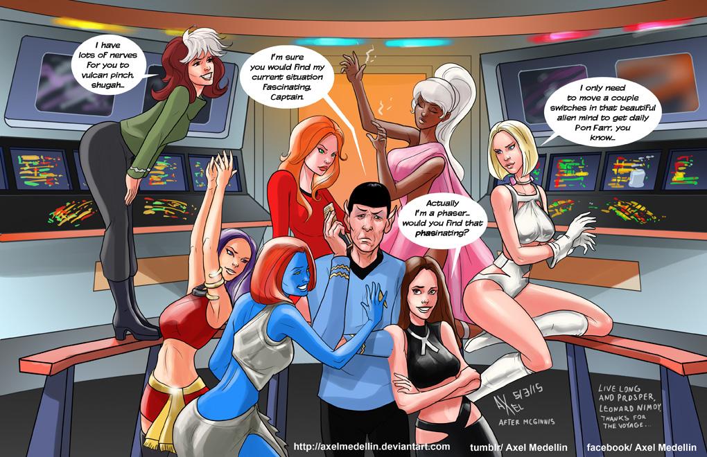 TLIID 230. The X-Women meet Mr Spock