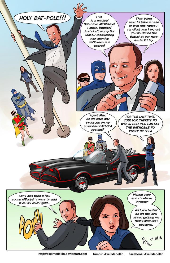TLIID 254. Agent Coulson meets Batman '66 by AxelMedellin