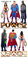 TLIID 261. DC Big Three in Ice-T's Power by AxelMedellin