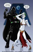 TLIID 262. Darth Vader vs The Joker by AxelMedellin
