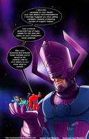 TLIID 267. Big Hero 6 vs Galactus by AxelMedellin