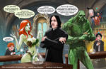 TLIID 275. Ivy and Swamp Thing in Snape's class