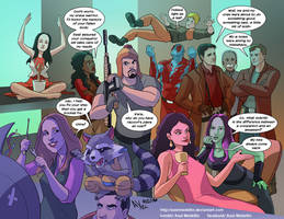 TLIID 276. Firefly meets Guardians of the Galaxy by AxelMedellin