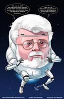 TLIID 284. George Lucas MODOK by AxelMedellin