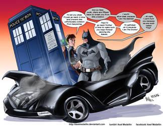 TLIID 290. Batman vs Doctor Who by AxelMedellin