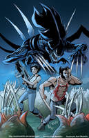 TLIID 332. Logan and Ripley. And aliens. by AxelMedellin