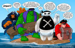 TLIID 343. Dreaded Pirate Baymax and friends