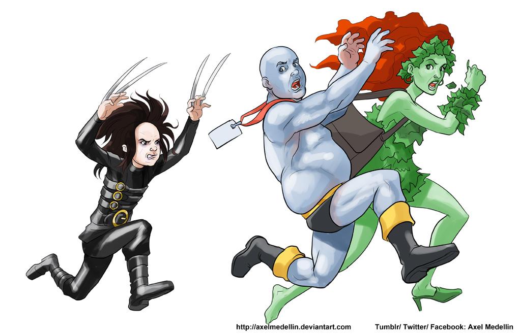 TLIID 362. X-23 in Edward Scissorhands cosplay by AxelMedellin