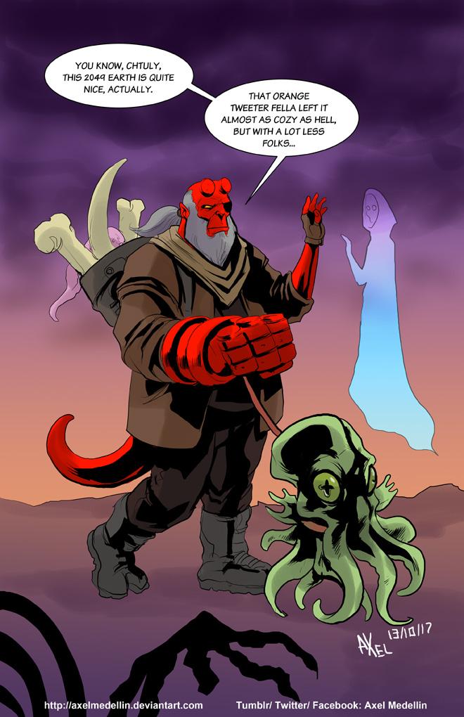 TLIID 363. Hellboy 2049 by AxelMedellin