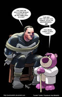 TLIID 369. The Punisher vs Lotso by AxelMedellin