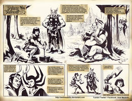 TLIID 375. Prince Valiant and Thor