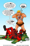 TLIID 392. Deadpool and He-Man