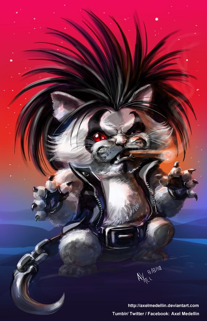 TLIID 404. Lobo the Main Cat by AxelMedellin