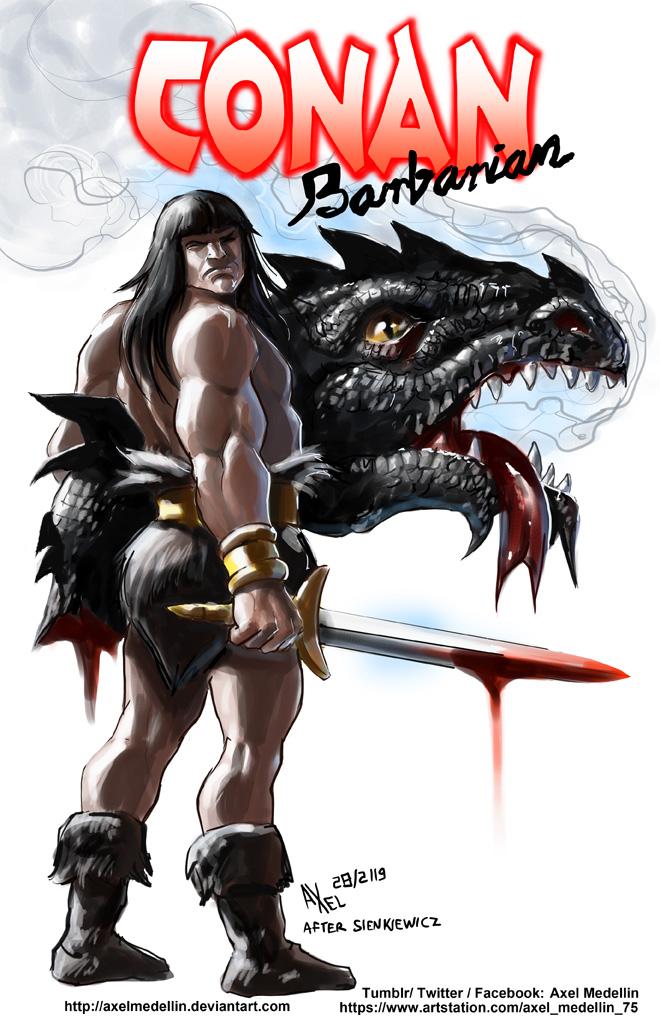 TLIID 432. Conan in Elektra: Assassin 1 by AxelMedellin
