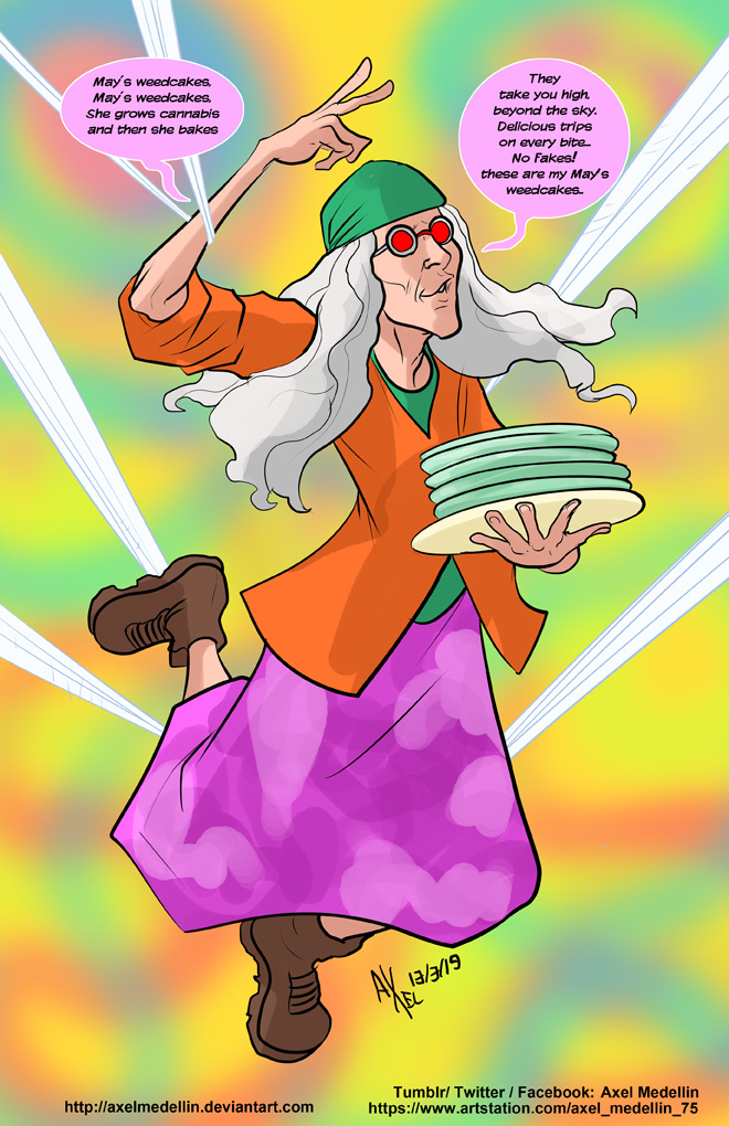 TLIID 434. Aunt May's Weedcakes by AxelMedellin