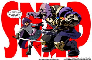 TLIID 440. Hit Girl breaks Thanos' Stones