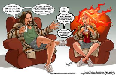 TLIID 446. Dark Phoenix vs The Dude by AxelMedellin