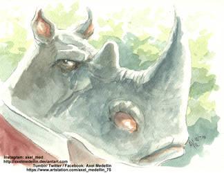 Elephantmen: The Pentalion Job #3. New issue! by AxelMedellin