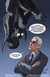 TLIID 454. John Munch and Spider-Man Noir