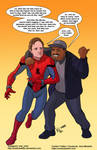 TLIID 463. Spider-Man and Luis by AxelMedellin