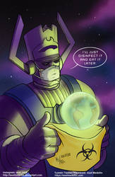 TLIID 485. Galactus saves the Earth... for later.