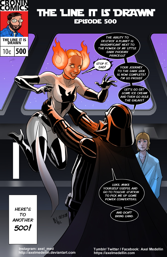 TLIID 501. Leia is Dark Phoenix