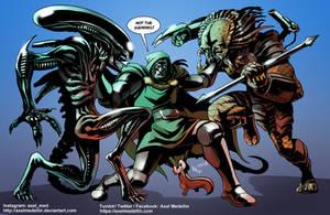 TLIID 502. Doom vs Alien vs Predator vs...