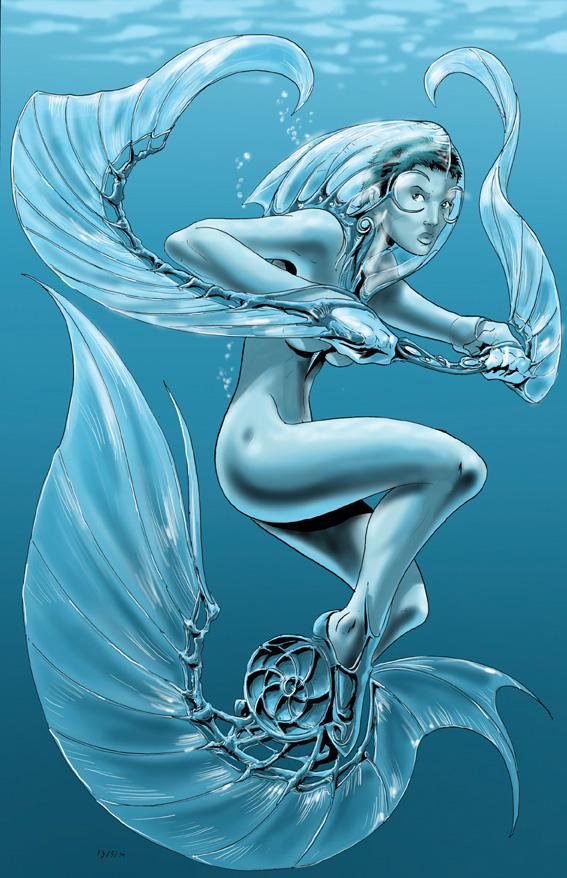 Mermaid by AxelMedellin