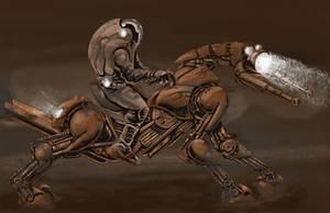 Space horse by AxelMedellin
