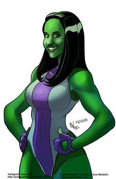 TLIID 521. Alison Brie as She Hulk