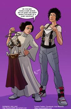 TLIID 529. Princess Leia vs Ellen Ripley