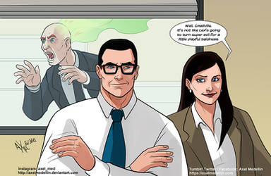 TLIID 533: Lois, Clark and Lex in The Office