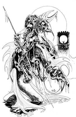 Don Quixote, inks