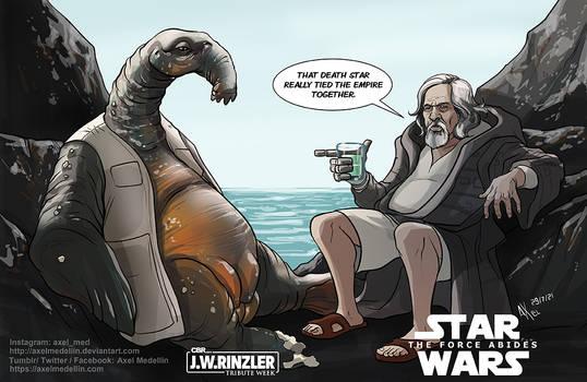 TLIID 554. Luke Lebowsky. Or The Big Skywalker?