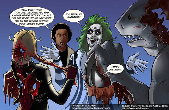 TLIID 555. Beetlejuice joins the Suicide Squad