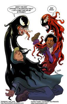 TLIID 564. Venom Dunn vs Carnage Mr Glass... sorta