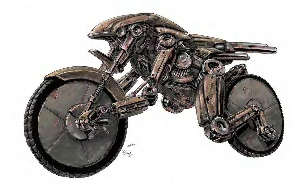 Mοτοσυκλέτα και ζωγραφική !!!!!!! Motorcycle_by_nancynismo