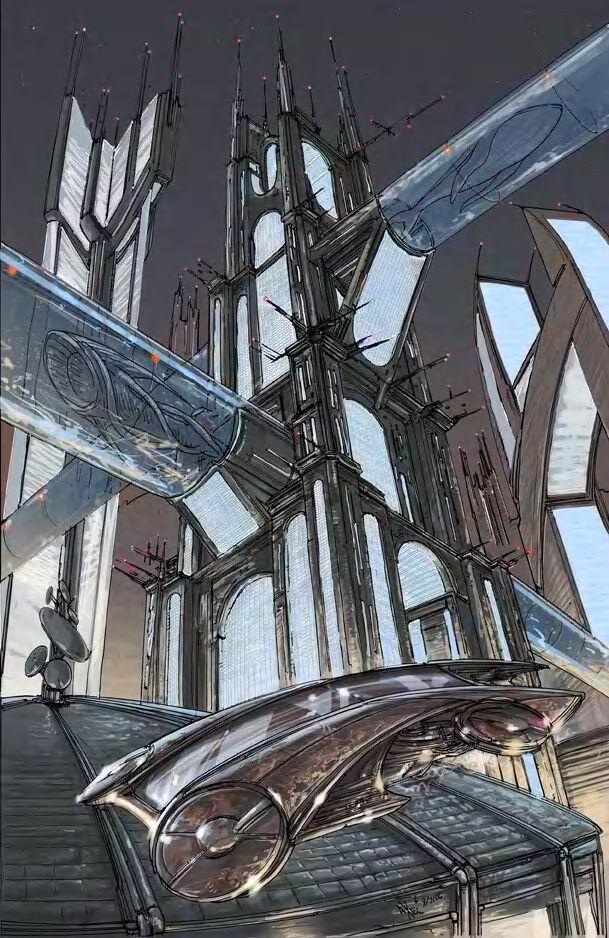 Future city by AxelMedellin