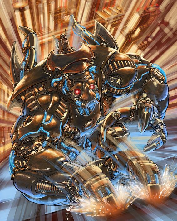 Behemoth 40k by AxelMedellin