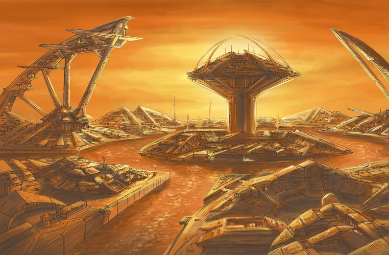 Atlantis redux by AxelMedellin