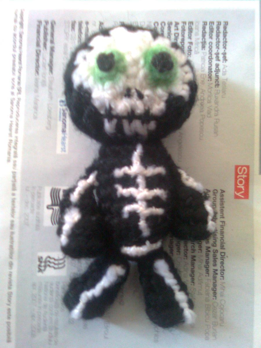 Hanging Crochet Skeleton | AllFreeCrochet.com | 1200x900