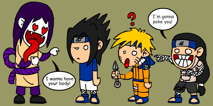 omg r those naruto characters by hiugo on deviantart