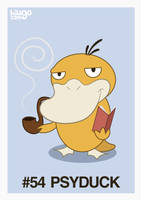 054 Psyduck by hiugo