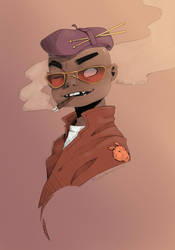 Russel  by DeadskullBroscircus