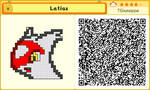 Fallblox/Crashmo: Latias by TGiuseppe94